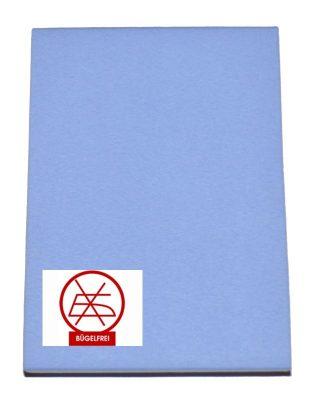 Gumis lepedő kék 60x120 és 70x140 (vasalás könnyített)