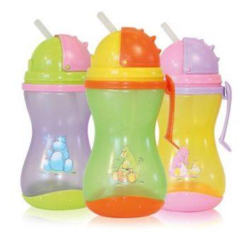Baby Care Mini sport itató szívószállal