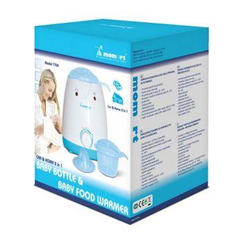 Momert cumisüveg és bébiétel melegítő (otthon és autóban is használható)