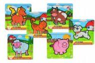 9 darabos állatkás puzzle