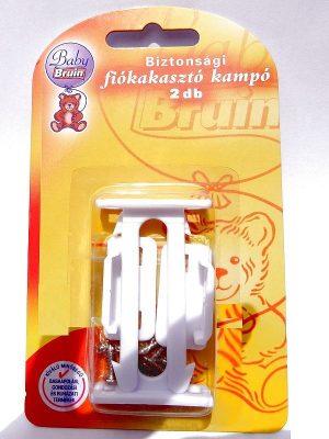 2 db Baby Bruin Biztonsági fiókakasztó kampó