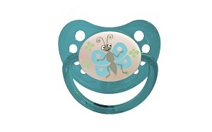 1 db Baby Bruin szilikon játszócumi 1-es méret, Pillangó