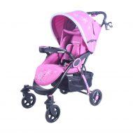BLACK NOVEMBER - MamaKiddies Light4 Go Sport babakocsi pink színben + Lábzsák + Ajándék