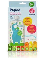 Papoo tasak bébiételekhez Elefánt (6 db)