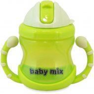 1 db Baby Mix 200 ml-es zöld itatópohár