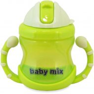 1 db Baby Mix 200 ml-es zöld itatópohár