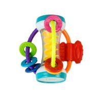 Golyós csörgő rágókával a Baby Mix-től