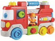 Baby Mix zenélő tűzoltóautó