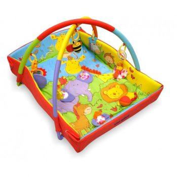 Baby Mix állatmintás peremes játszószőnyeg