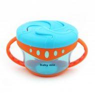 Baby Mix fedeles bögre fogantyúval - kék