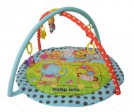 Baby Mix kerek cirkuszi állatkás játszószőnyeg