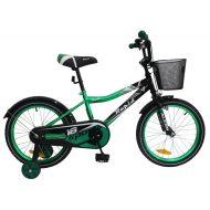 """Baby Mix azúrkék bicikli ajándék tanulórúddal és kosárral (14"""")"""