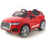 Audi Q7 piros elektromos autó távirányítóval