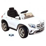 Mercedes-Benz GLA fehér elektromos autó távirányítóval