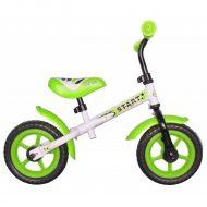Baby Mix zöld-fehér futóbicikli