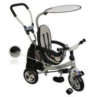 Baby Mix Trike 360 Grey prémium tricikli tolókarral és lábtartóval