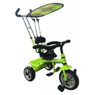 Baby Mix Green tricikli tolókarral és lábtartóval