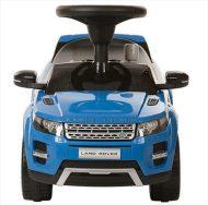 Range Rover zenélő lábbal hajtható autó kék színben