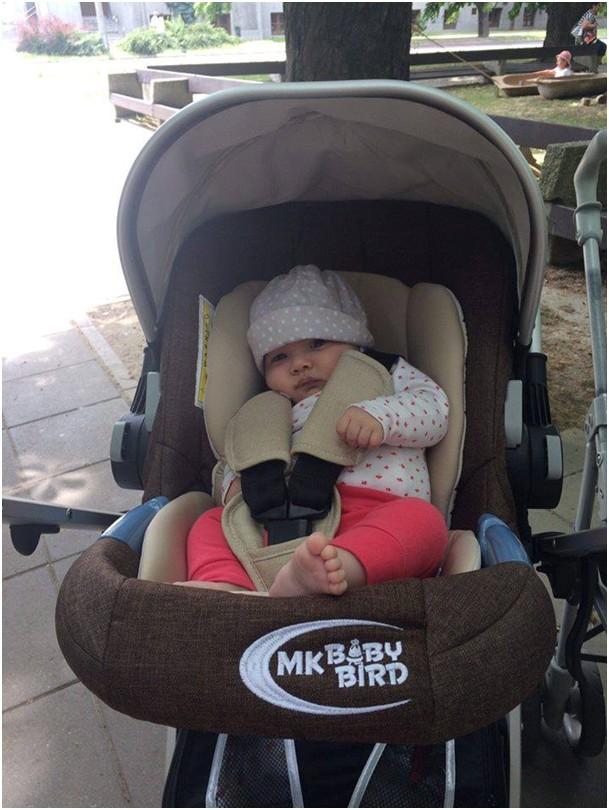 MamaKiddies BabyBird 3az1-ben babakocsi fényképes vásárlói vélemények