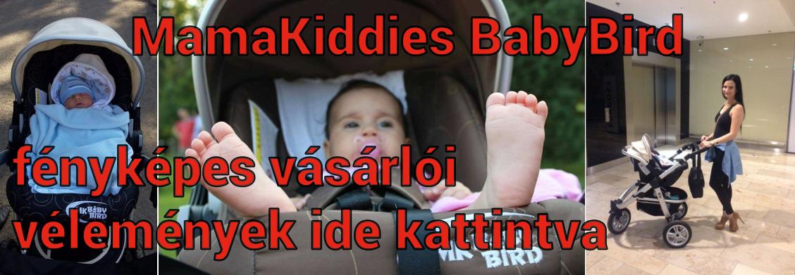 MamaKiddies BabyBird 3az1-ben babakocsi fényképes olvasói vélemények