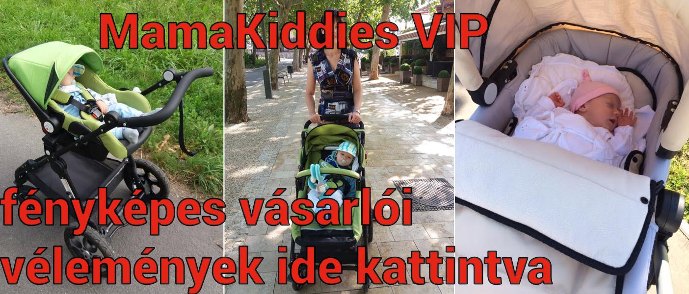 MamaKiddies VIP Lifestyle, VIP Baby és VIP Limited 4 az1-ben babakocsi fényképes olvasói vélemények
