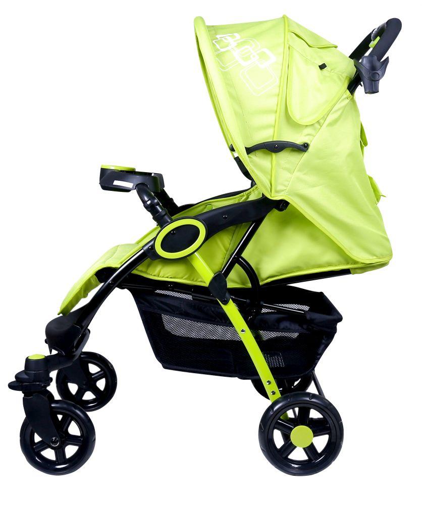 MamaKiddies Light4 Go Sport babakocsi lime-fekete színben + Ajándék