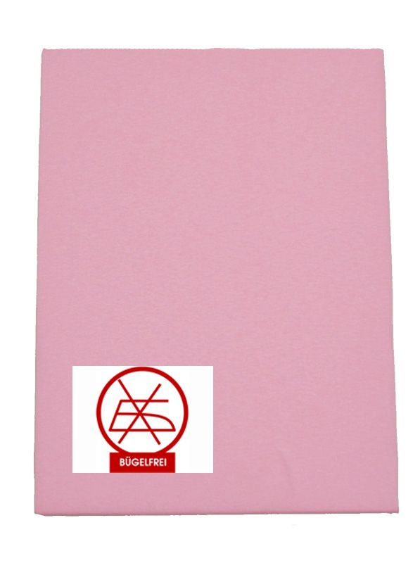Gumis lepedő  80x160-as méretben rózsaszín (vasalás könnyített)