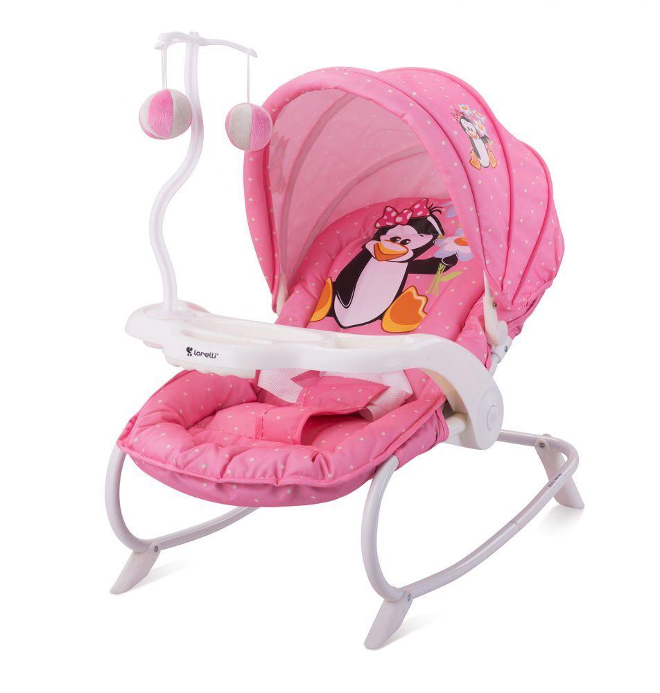 Lorelli Dream Time pihenőszék - Pink Penguin