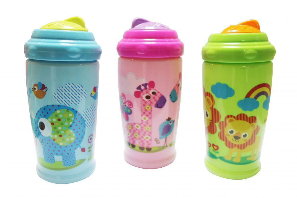 Baby Care sport itató (Swipey sipper) - 300 ml - Zoo