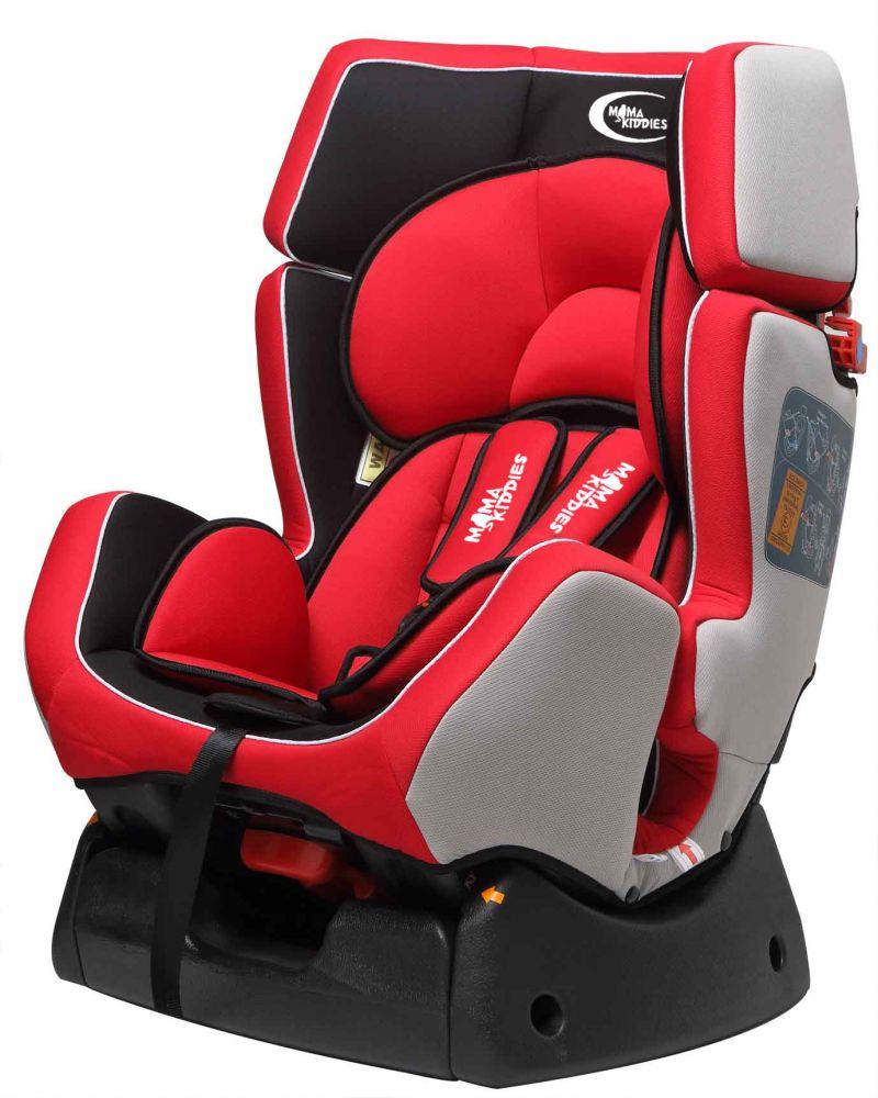 MamaKiddies Baby Plus autósülés (0-25 kg) piros-fekete
