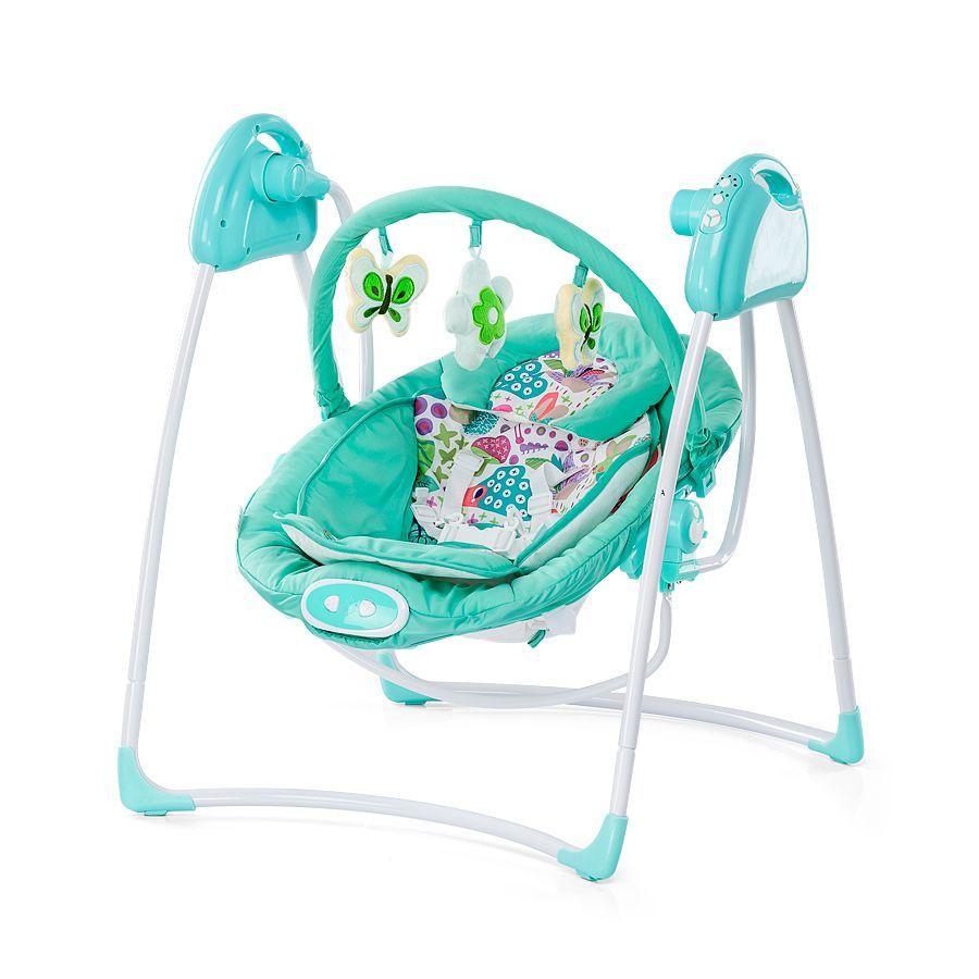 Chipolino Paradise 2in1 elektromos hinta és pihenőszék - Blue Green