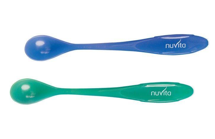 Nuvita hőérzékelős kanál (2db) - Blue