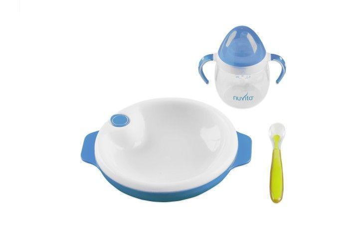 Nuvita első étkészlet - kék
