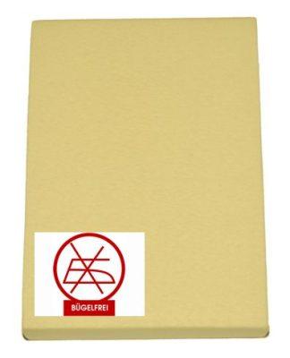 Gumis lepedő sárga 60x120 és 70x140 (vasalás könnyített)