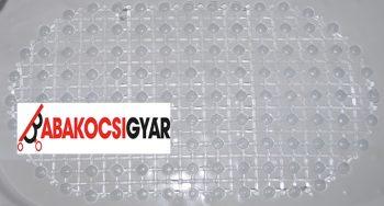 Víztiszta csúszásgátló tálcába 69 x 39 cm