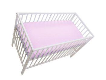 Mama Kiddies Sofie Dreams gumis lepedő pink színben 120x70