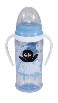 Baby Care itató puha ivócsőrrel, fogantyúval 250 ml