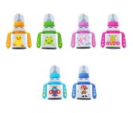 Baby Care cumisüveg foganytúval 125ml - vegyes színekben