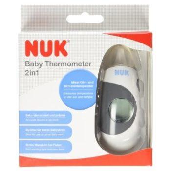 NUK 2in1 lázmérő és hőmérő egyben LCD kijelzővel