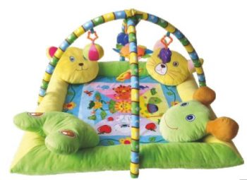 Lorelli Toys játszószőnyeg - 4 párnás peremmel