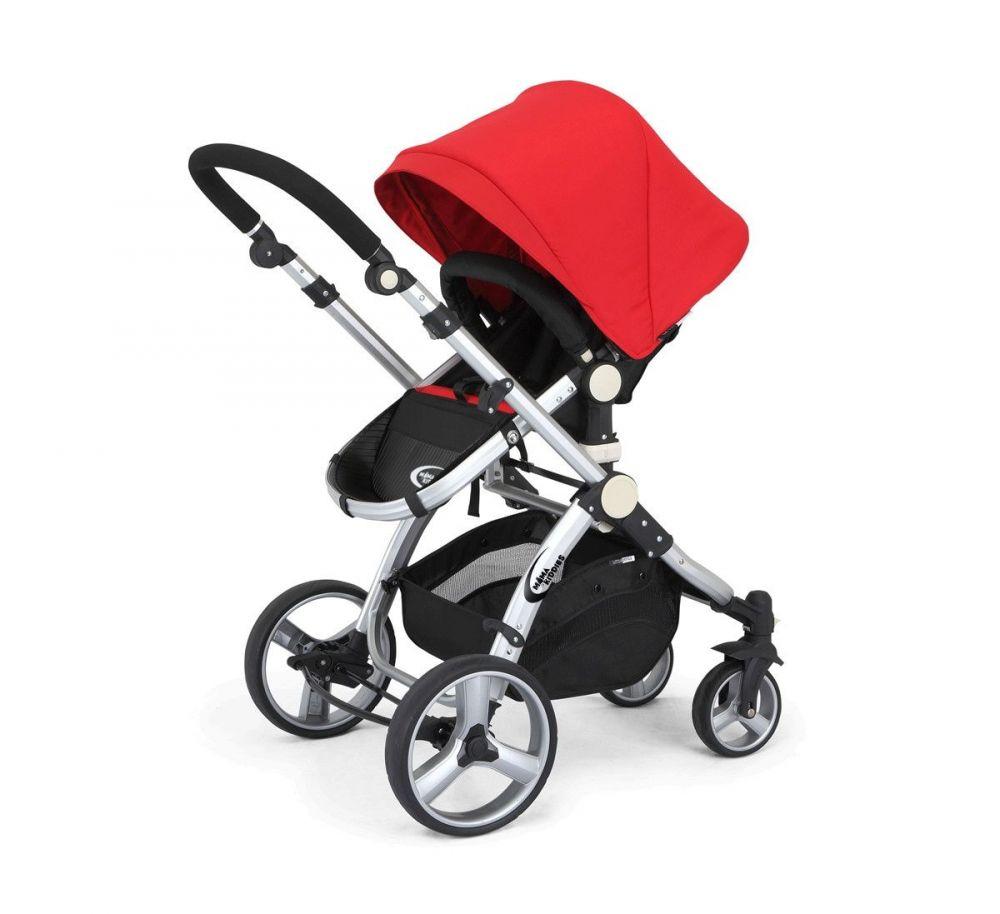 MamaKiddies Prémium Baby 3 az 1-ben babakocsi kiegészítőkkel piros színben  + Ajándék fa2d4e4ec8
