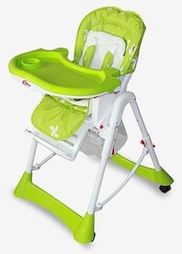 MamaKiddies Star zöld multifunkciós etetőszék + Ajándék - Babakocsi ... 2556c4409d