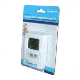 Momert digitális szobai pára- és hőmérő LCD kijelzővel