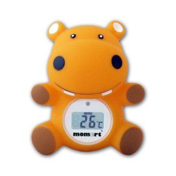 Momert digitális víz- és szobahőmérő