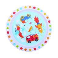 P&M melamin tányér járművek