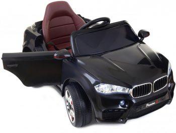 Fekete MX6 limited edition elektromos sportterepjáró dupla motorral és akkumulátorral