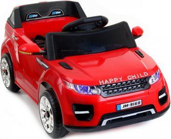 Happy Child piros elektromos sport terepjáró távirányítóval