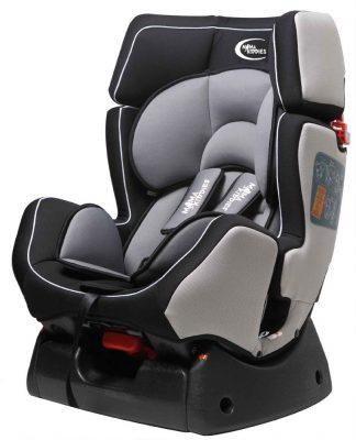 MamaKiddies Baby Plus autósülés (0-25 kg) ezüst-fekete
