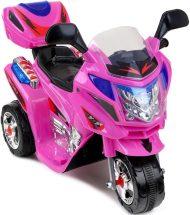 Háromkerekű elektromos sportmotor pink színben