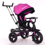 MamaKiddies Riker Pinky Full Extra tricikli (360°-ban forgatható ülés)